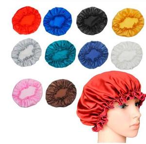 Frauen-Schlaf Cap Satin Nacht Bonnet Hüte Lace Schlafmütze Haarpflege-Kopf-Abdeckung Beanie Satin Bonnet Caps Nightcap für Frauen GGA3341