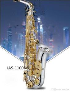 마우스 피스 갈대와 케이스의 새로운 색소폰 JUPITER JAS-1100SG의 Eb 알토 색소폰 골드 키 색소폰 알토 전문 악기