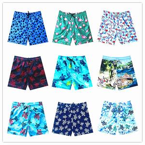 2019 Marka Vilebre Erkekler Plaj Kurulu Şort Mayo Erkekler% 100 Hızlı Kuru Erkek Boardshorts Bermuda Brequin Swimshort M-XXXL