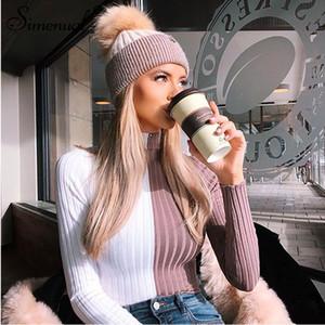 dolcevita maglioni e pullover autunno maglieria vestiti delle donne della rappezzatura sexy skinny cropped maglione caldo di vendita della signora