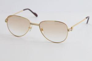 Verkauf von Mode Metall Sonnenbrille Klassische Piloten Metallrahmen Einfache Freizeit Cut Top-Qualität designe Sonnenbrille männlich und weiblich