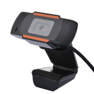 2.0 HD Webcam 1080p Camera USB para computador PC Gravação de Vídeo Web Camera com microfone 30 Graus Rotatable reunião de estudo on-line