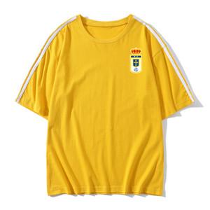 real oviedo Soccer T-shirt Soccer Jerseys Short Sleeves T-shirt real oviedo Loose men Soccer training jerseys Football Shirt Fans Tops Tees
