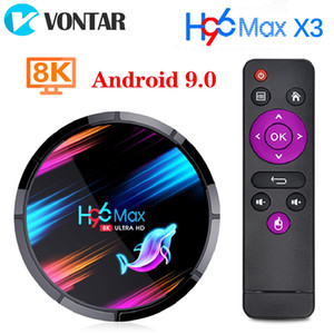 Neue H96 MAX X3 Android TV Box 9,0 4 GB 32 GB 64 GB 128 GB Amlogic S905X3 1000 MT Dual Wifi 4 Karat h96max Smart TV Box
