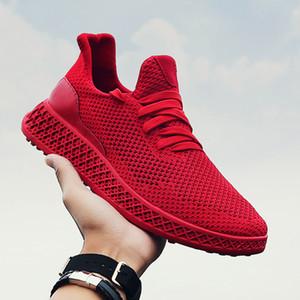 LEOSOXS zapatos de hombre zapatos casuales de primavera y verano nueva temporada de la mosca de los hombres de las zapatillas de deporte que teje para hombre de los zapatos respirables