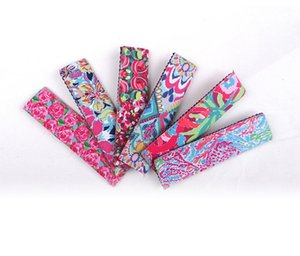 Lilly Pulitzer Eis am Stielhalter Gummi Rosa Farbe Druck Tauchmaterial Blenden Popsicle Tasche