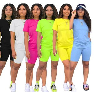 Womens outfits short sleeve 2 piece set tracksuit jogging sportsuit hoodie leggings outfits sweatshit tights sport suit hot