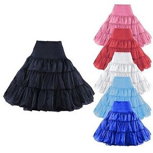 New Short Bridal Solid Wedding Petticoat Skirt Women's Crinoline Underskirt Plus Size