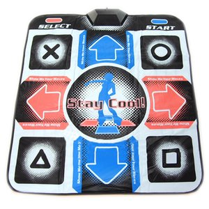 OSTENT USB RCA Non-Slip Dancing Step Dance Mat Pad for PC TV AV Video Game Y200413