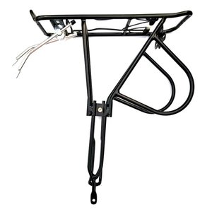 New Bicycle Luggage Rack Cargo Rear Frame Bicycle Seatpost Bracket 24-27 Inch Bicycle Belt Installation Tool Pet Supplies