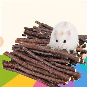 Elma Ağacı Çubuk Mineraller Molar Taş Küçük Hayvan Pet Malzemeleri Taşlama Profesyonel Hamster Tavşan Dişler Chinchilla Small için Oyuncak Chew