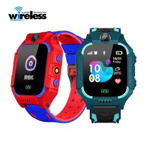 Q19 Smart Watch d'enfants SOS LBS Positionnement Emplacement Caméra Smart Phone Baby Watch Voice Chat Smartwatch VS q528 Q12 Q9 Enfants Regardent