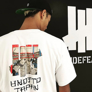 Imbattuto GIAPPONE magliette di marca Mens T-shirt Designer Hip Sumo Stampato Harajuku manica corta Hop Oversize Tee Uomo Coppia Estate Donna