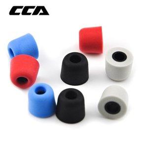 telefone Acessórios CCA 1pair (2pcs) 5 milímetros isolamento de ruído Memory Foam Ear Dicas Ear Foam Eartips Para Em fone de ouvido intra-auriculares Auricular Para Zsn
