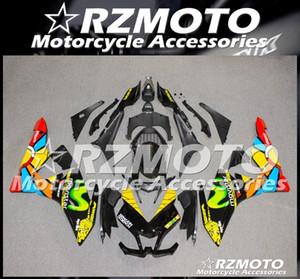 Stampaggio ad iniezione nuovo ABS moto completa carenature In forma per l'Aprilia RS125 125 2006 2007 08 09 10 2011 personalizzato RS4 libero Nero Giallo Rosso