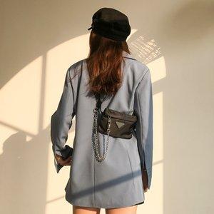 Pequeño paquete de nylon MABULA MABULA Paquete de la cintura Fasion Bolsas de hombro Messager Bags para las mujeres 2019 bolsos bolsos Montones de mujeres cremallera y sctae
