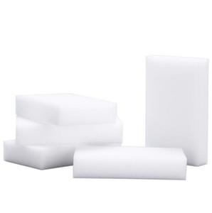 100шт Магия Губка белый меламин Губка Резинка для клавиатуры автомобиля кухня Ванная для очистки Меламин Clean High Desity 10x6x2cm EEA1892