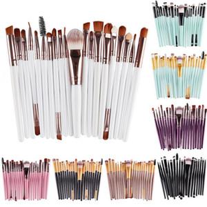 20 pcs Pincéis de Maquiagem Set Sombra de Olho Fundação Pó Delineador Pestana Lábio Make Up Brush Cosmetic Beleza Tool Kit Hot