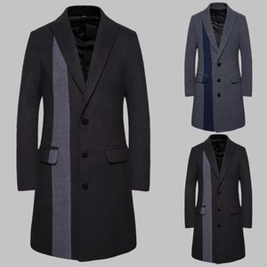 Vogue of new fund of 2020 autumn outfit is recreational men's cultivate one's morality quality in Europe and the coat coat