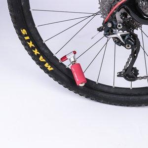 Mini Dual Valve Head CO2 Bicycle Tire Pump Mouth Road Bikes Air Inflator Head Motorbike Tyre Pump Valve for wheelup