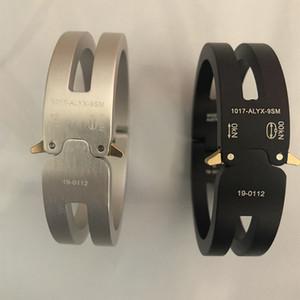 2020 ALYX Bracelet Hommes Femmes Mode casual ALYX piste en alliage d'aluminium Bracelet unisexe Couples