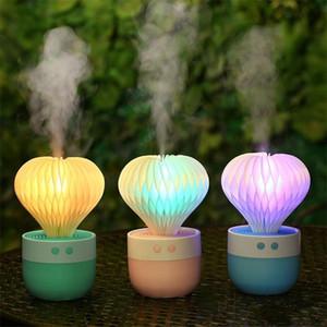 Nuovo Creativo USB Aromaterapia Diffusore di Olio Essenziale 130 ml Auto Portatile Mini Ultrasuoni Nebbia Fredda Aroma Umidificatore D'aria Per La Casa 35zx