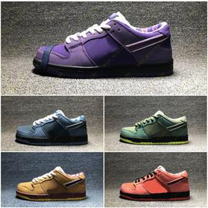 Purple Lobster Diamond Designer de mode Star Sole Chaussures de sport occasionnels Concepts x SB Dunk Low chaussures de planche à roulettes 36-45