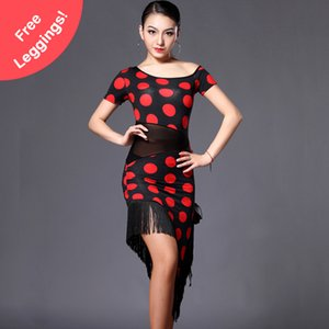 2018 Latin Dance Dress Women Regata Feminina Latin / Cha cha Dress Flamenco Dresses Salsa Dance Dresses Vestido De Baile Latino