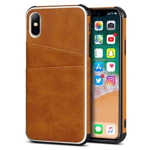 Carpeta de la tarjeta de nuevo caso para el iphone SE 2020 Caso X Max Xr X Caso a prueba de golpes real de cuero para iPhone Plus 7 8 6 6s