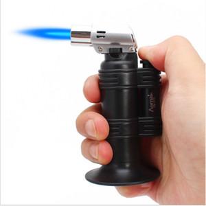Metall Zigarette Zigarre Feuerzeug-windundurchlässige Strahl-Flamme-Fackel Gerade Jet Flame Feuerzeug-Butan-Gas-Schweißbrenner 1300c für Bong rauchen