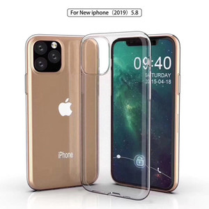 Ultra-thin 0.3mm transparent Soft TPU Clear Cases For iPhone 11 Pro MAX X XS XR 5s 6s 7 8 Plus Crystal Cover
