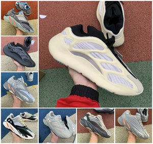 2020 di alta qualità 700 Kanye West Running Shoes vanta 700 V3 Alvah Azael 3M Reflective V2 Mist Alien Mens Donne Trainer Sneakers