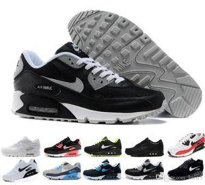Оптовая высокое качество мужчины и женщины 90 ультра кроссовки на воздушной подушке оригинальные мужские повседневная спортивная обувь 36-45