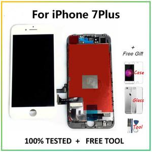 """iPhone7Plus 5.5"""" LCD'ler Ekran iPhone 7 Artı 7Plus LCD Ekran Dokunmatik Ekran Sayısallaştırıcı Meclisi Yedek Parça + Araçlar İçin"""
