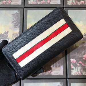 High Quality Luxurious Long Wallet Design Card Holder Pocket Fashion Purse Wallets For Men Wallets Purse Classic Zipper Pocket