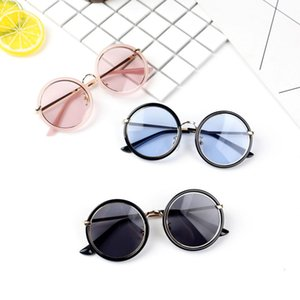 Fashion Kids Sunglasses Round Frame Boys Girls Sun Glasses Children Baby Eyeglasses UV400 Shades Oculos Gafas De Sol wholesale