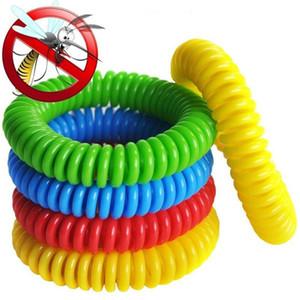 Mosquito Repllent браслет Телефон браслет Эластичный Эластичный Coil Спиральные рук лучезапястного сустава Anti-Mosquito браслет для наружного Пешеходный A5905