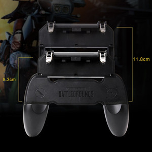 W10 Universal Mobile Phone Game Controller Joystick Chicken Dinner Gamepad For Aim Trigger Shooter Button Smart Game Accesories best price
