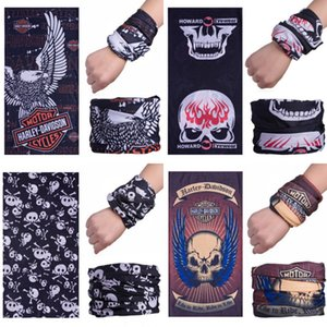 Off-Road Folding Racing Mountain Bike Sports Seamless Magic Headskull Scarf Breathable Sunscreen Skull Variety Skull Scarf Riding Starry #806