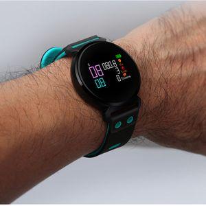 K2 스마트 시계 혈액 산소 혈압 심장 박동 모니터 블루투스 피트니스 손목 시계 IP68 방수 스마트 팔찌를 들어 아이폰 안드로이드