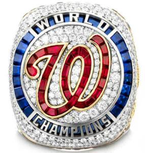 워싱턴 2020 전국 월드 시리즈 챔피언 야구 팀 우승 반지