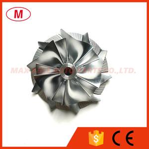 TD04HL 15T Performance 41.93 / 55.69 mm 5+5 лопастей Turbo Aluminum 2618 / фрезерное / Заготовочное компрессорное колесо для Isuzu 49189-01700/49377-06351