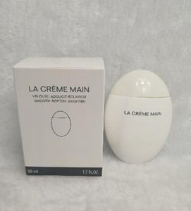 New C Makeup Hand Creams Lotions LA CREME MAIN Veloute Adoucit Eclaircit smooth soften brighten Hand cream Skin care 50ml lotion