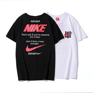 Moda erkek O-Boyun T-shirt Yaz Kazak Pamuk Kısa Kollu Yuvarlak Boyun Tees Erkek Gym Spor Casual Slim Tops