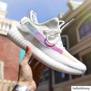 2019 Kanye West V2 Black Static Reflective Antlia Clay Hyperspace True Form Chameleon Mens Running Shoes Women Fashion Designer Sneakers