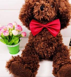 100 PC를 도매 애완 동물 머리 장식 개 목에 넥타이 개 고양이 넥타이 애완 동물은 여러 가지 빛깔의 무료 배송을 선택할 수 공급을 정리 묶어 활