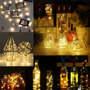 Wine Bottle Lights with Cork, Fairy Lights Battery Operated, LED Cork Shape Copper Wire, Fairy Mini String Lights for DIY Party Decoration