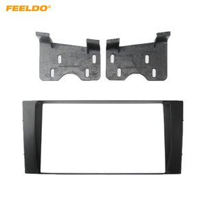 Feelo Car 2Din Facia Panel Frame Adapter for toyota 4 runner 2003-2008 stereo fascia dash trim installation kit # 3262