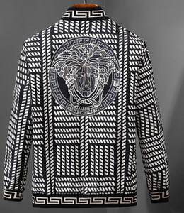 2019 осень и зима новое прибытие мужская печать письма бомбардировщик куртка мужчины роскошные ~ топы мужчины дизайнер высокое качество куртка