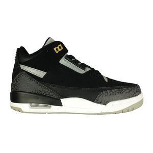 Tinker 3s Black Cement three gray elephant print Scarpe da Basket Novità sneakers da uomo 2019 Michael Sport